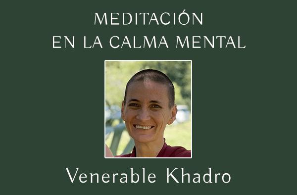 MEDITACIÓN EN LA CALMA MENTAL
